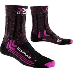 X-Socks Trekking Light Limited Socks Damen pink/black